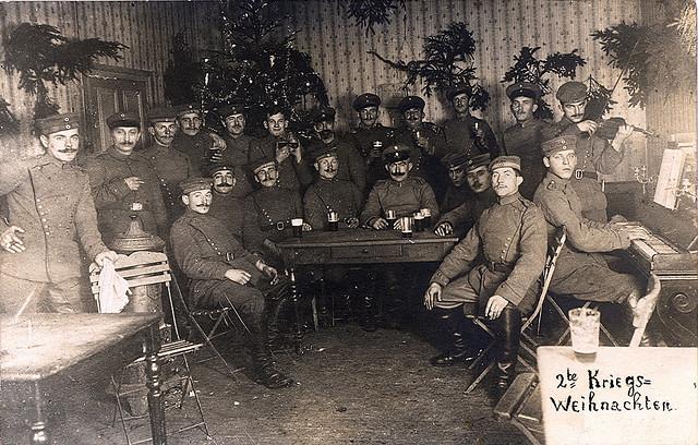 vojaci vianoce
