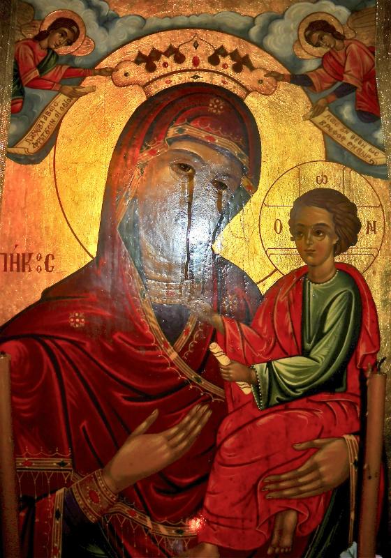 placuca ikona Bohorodicka