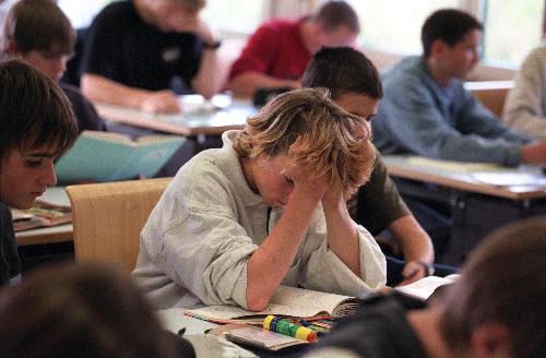 støední škola výuka žák tøída vzdìlání únava vyèerpání stres