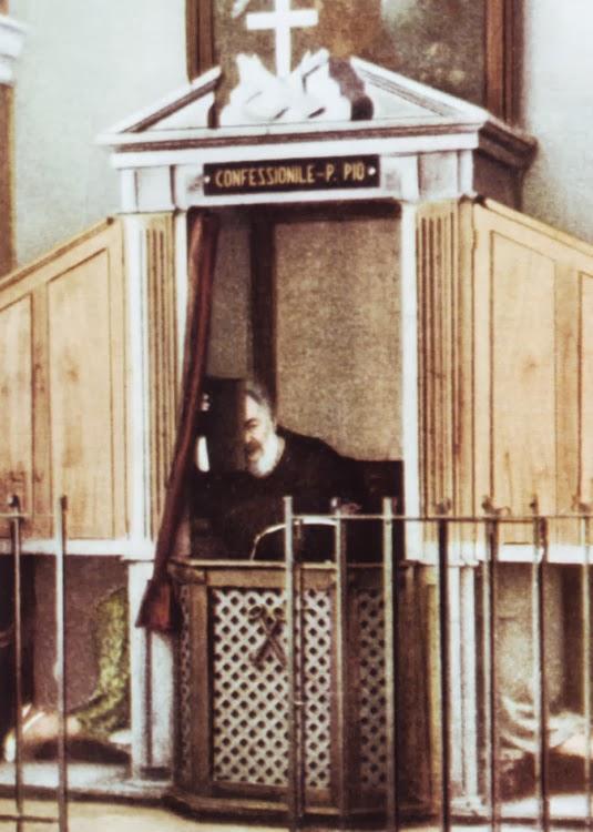 Páter Pio spoveď