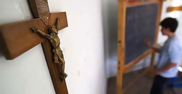 Cross-in-Catholic-School