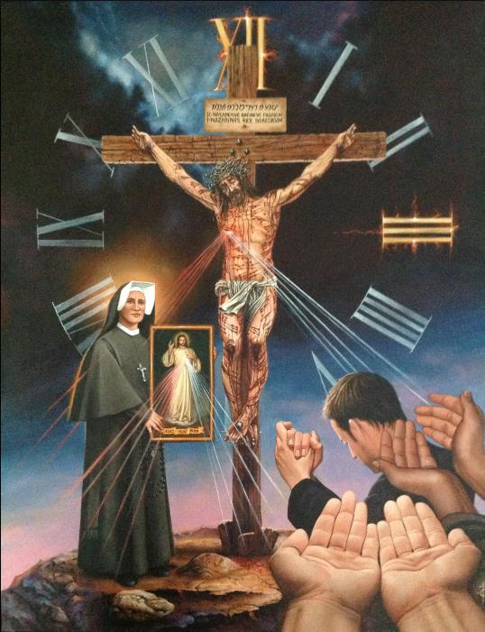Božie milosrdenstvo Tretia hodina