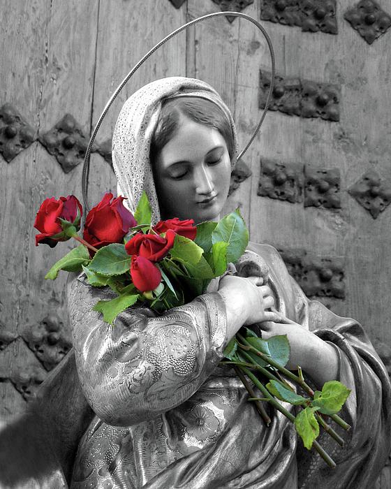 panna mária a požehnanie ruží