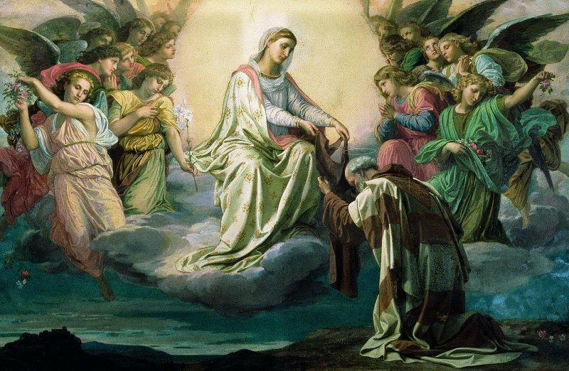 Obrad prijatia sv. škapuliara