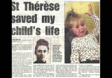 Svätá Terezka zachránila malé dievčatko
