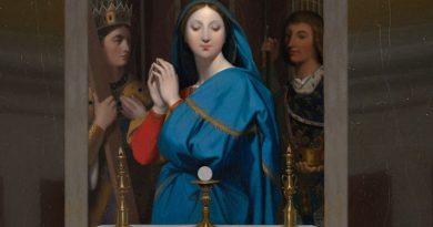 Ako sa svätí pripravovali na prijatie Eucharistie? Odpoveď znie: s Pannou Máriou!