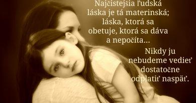 Láska mamy