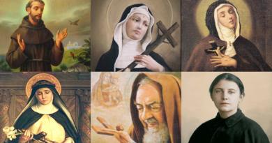 6 stigmatizovaných svätcov